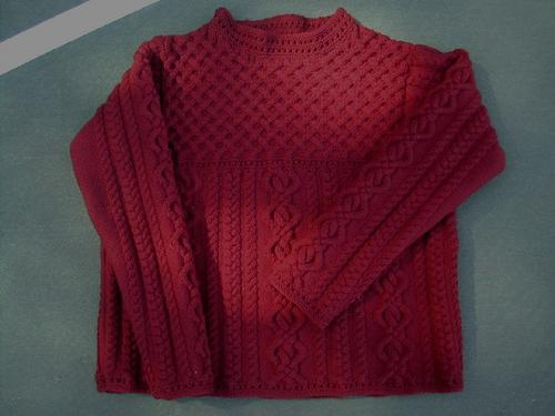 Aurora 8 Cabled Pullover