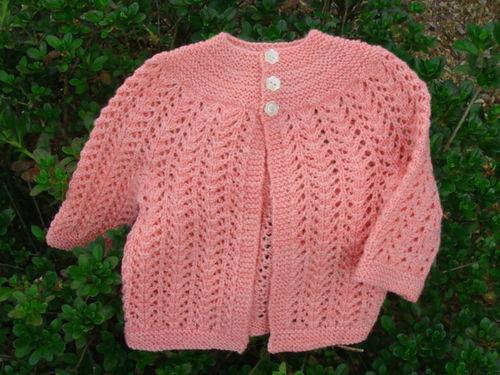 EZ's Sweater On Two Needles