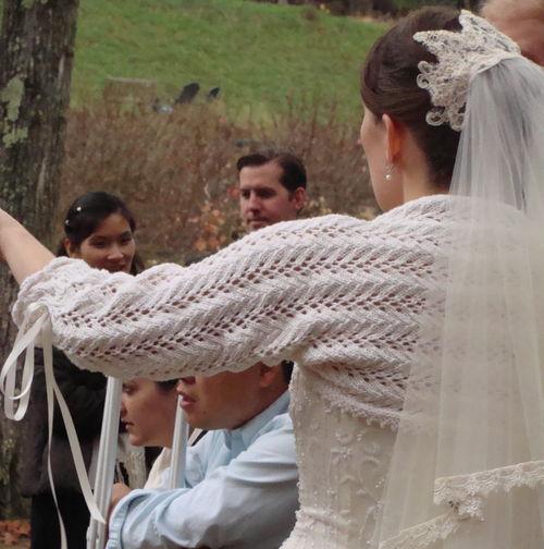 Posh Wedding Shrug for Bethany